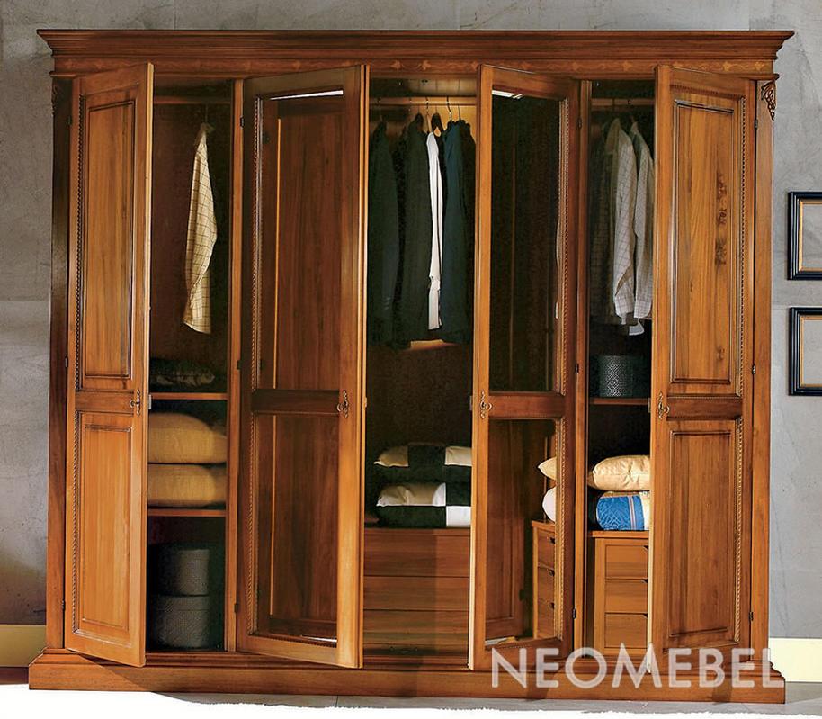 Элитная мебель из массива для спальни clipwood.ru.