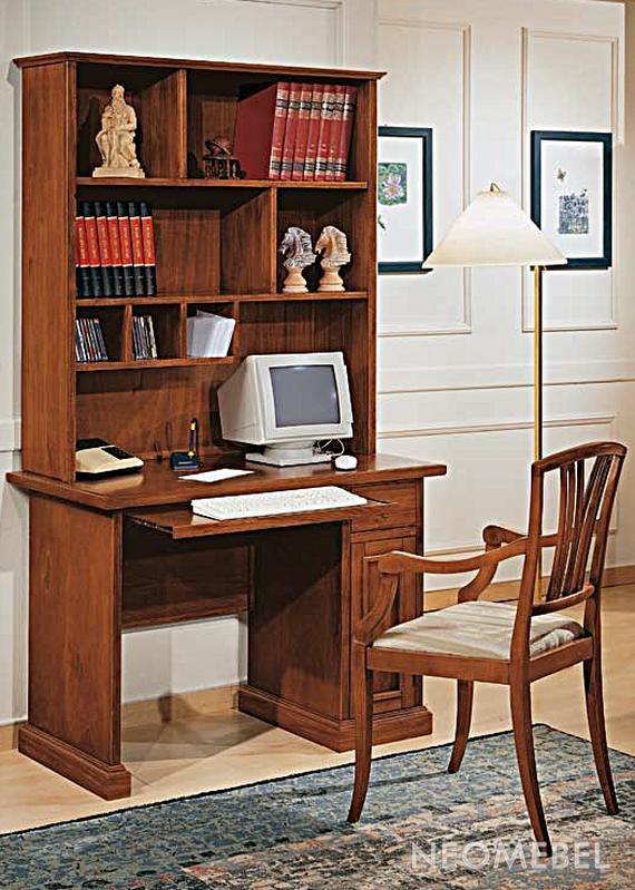 Компьютерный стол modenese gastone 6461. классический. perla.